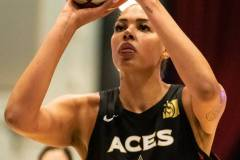 WNBA - New York Liberty 58 vs. Las Vegas Aces 90 (52)