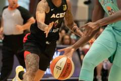 WNBA - New York Liberty 58 vs. Las Vegas Aces 90 (64)
