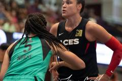 WNBA - New York Liberty 58 vs. Las Vegas Aces 90 (65)