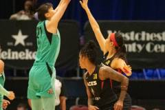 WNBA - New York Liberty 58 vs. Las Vegas Aces 90 (67)