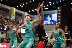 WNBA - New York Liberty 58 vs. Las Vegas Aces 90 (69)