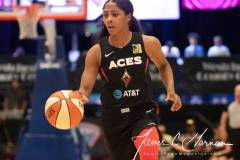 WNBA - New York Liberty 58 vs. Las Vegas Aces 90 (70)