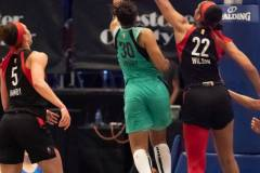 WNBA - New York Liberty 58 vs. Las Vegas Aces 90 (71)