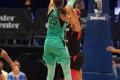 WNBA - New York Liberty 58 vs. Las Vegas Aces 90 (74)