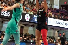 WNBA - New York Liberty 58 vs. Las Vegas Aces 90 (75)