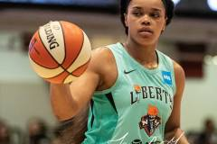 WNBA - New York Liberty 58 vs. Las Vegas Aces 90 (79)