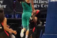 WNBA - New York Liberty 58 vs. Las Vegas Aces 90 (80)