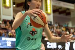 WNBA - New York Liberty 58 vs. Las Vegas Aces 90 (81)