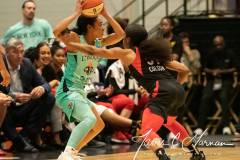 WNBA - New York Liberty 58 vs. Las Vegas Aces 90 (83)