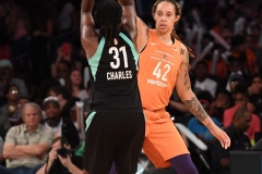 WNBA New York Liberty 74 vs. Phoenix Mercury 80 (36)
