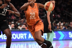 WNBA New York Liberty 74 vs. Phoenix Mercury 80 (47)
