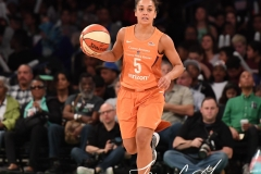 WNBA New York Liberty 74 vs. Phoenix Mercury 80 (51)