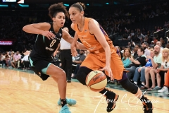 WNBA New York Liberty 74 vs. Phoenix Mercury 80 (56)