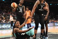 WNBA New York Liberty 74 vs. Phoenix Mercury 80 (57)