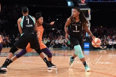 WNBA New York Liberty 74 vs. Phoenix Mercury 80 (6)