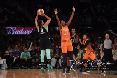 WNBA New York Liberty 74 vs. Phoenix Mercury 80 (62)