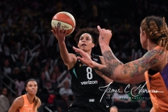 WNBA New York Liberty 74 vs. Phoenix Mercury 80 (8)