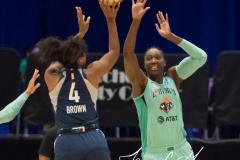 WNBA - New York Liberty 75 vs. Minnesota Lynx 69 (36)