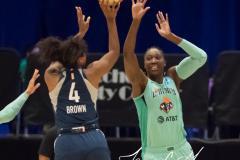 WNBA - New York Liberty 75 vs. Minnesota Lynx 69 (36)