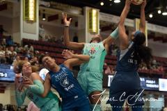 WNBA - New York Liberty 75 vs. Minnesota Lynx 69 (41)