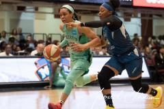 WNBA - New York Liberty 75 vs. Minnesota Lynx 69 (42)