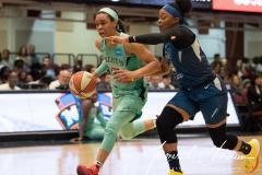 WNBA - New York Liberty 75 vs. Minnesota Lynx 69 (42)
