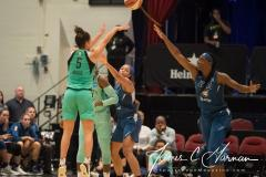 WNBA - New York Liberty 75 vs. Minnesota Lynx 69 (56)