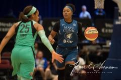 WNBA - New York Liberty 75 vs. Minnesota Lynx 69 (57)