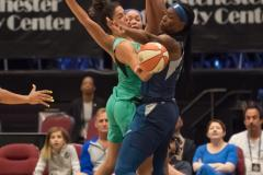 WNBA - New York Liberty 75 vs. Minnesota Lynx 69 (58)