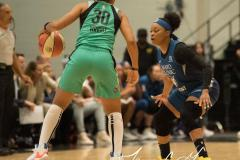 WNBA - New York Liberty 75 vs. Minnesota Lynx 69 (60)