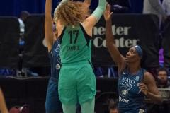 WNBA - New York Liberty 75 vs. Minnesota Lynx 69 (62)
