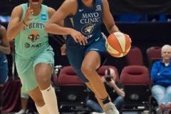 WNBA - New York Liberty 75 vs. Minnesota Lynx 69 (64)