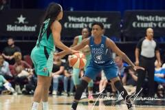 WNBA - New York Liberty 75 vs. Minnesota Lynx 69 (66)