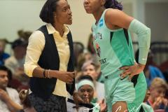 WNBA - New York Liberty 75 vs. Minnesota Lynx 69 (70)