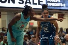 WNBA - New York Liberty 75 vs. Minnesota Lynx 69 (82)