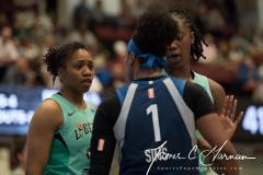 WNBA - New York Liberty 75 vs. Minnesota Lynx 69 (86)