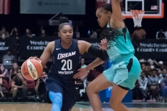 WNBA - New York Liberty 77 vs. Atlanta Dream 86 (63)