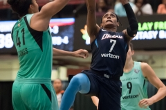 WNBA - New York Liberty 77 vs. Atlanta Dream 86 (68)