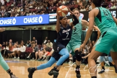 WNBA - New York Liberty 77 vs. Atlanta Dream 86 (73)