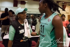 WNBA - New York Liberty 77 vs. Atlanta Dream 86 (76)