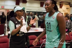 WNBA - New York Liberty 77 vs. Atlanta Dream 86 (77)