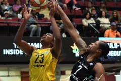 WNBA - New York Liberty 78 vs. Indiana Fever 75 (55)