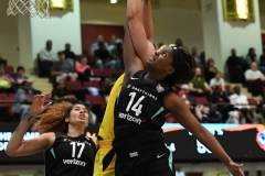 WNBA - New York Liberty 78 vs. Indiana Fever 75 (60)