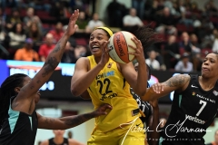 WNBA - New York Liberty 78 vs. Indiana Fever 75 (66)