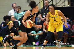 WNBA - New York Liberty 78 vs. Indiana Fever 75 (70)