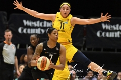 WNBA - New York Liberty 78 vs. Indiana Fever 75 (73)