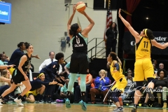 WNBA - New York Liberty 78 vs. Indiana Fever 75 (76)