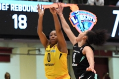 WNBA - New York Liberty 78 vs. Indiana Fever 75 (78)