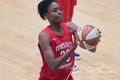 WNBA - New York Liberty 78 vs. Washington Mystics 95 (50)