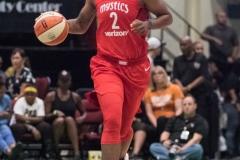 WNBA - New York Liberty 78 vs. Washington Mystics 95 (52)